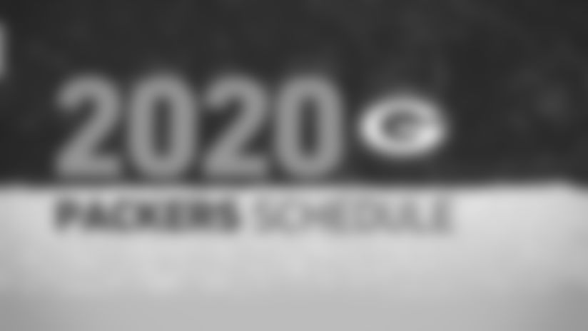 2020 Green Bay Packers Schedule