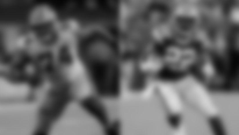 Player Appearance - Elgton Jenkins & Dexter Williams