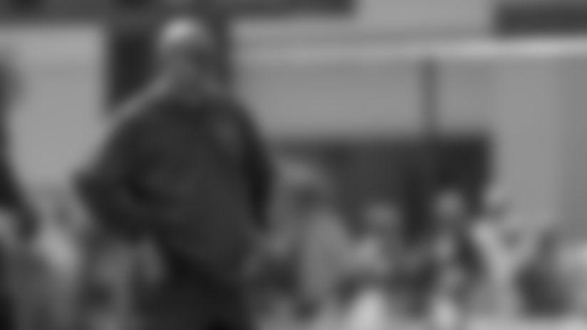 Defensive coordinator Mike Pettine