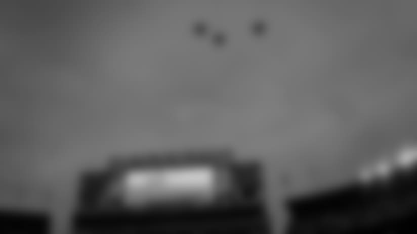 F-15E Strike Eagles fly over Lambeau Field
