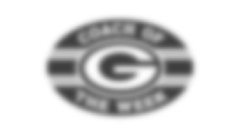 Green Bay Packers Coach of the Week