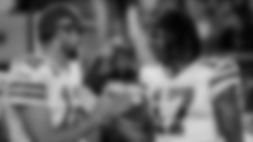 QB Aaron Rodgers and WR Davante Adams