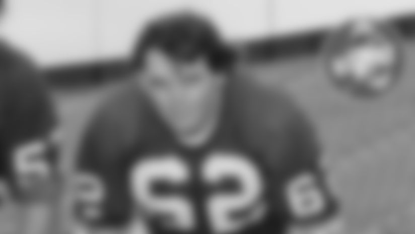 Former Packers G Bill Lueck