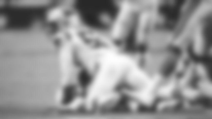 Brian Burns hits Kyler Murray