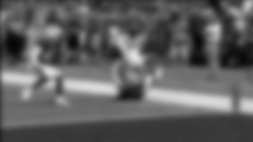 Jarius Wright 28-yard reception