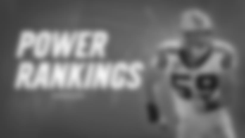 Panthers in the Power Rankings: Week 8