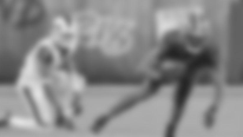 Juston Burris interception