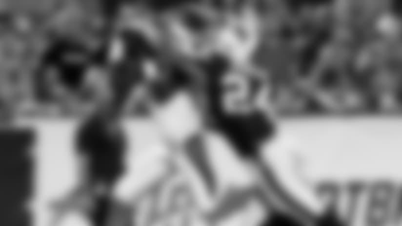 Mose Frazier 26-yard TD catch