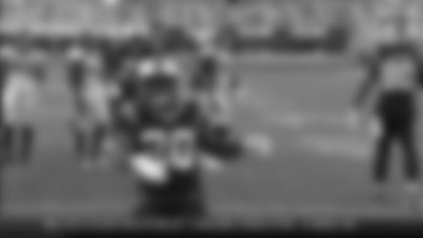 Mike Davis rushes for a 10-yard touchdown vs. Denver Broncos