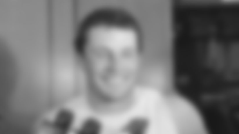 Luke Kuechly: It's fun to open at home