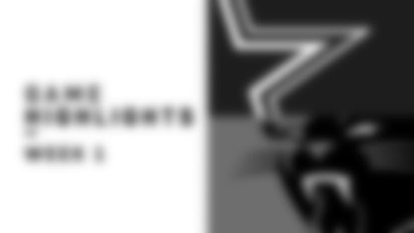 Highlights: Panthers vs. Cowboys