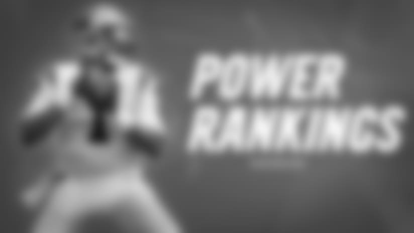 Panthers in the Power Rankings: Week 10