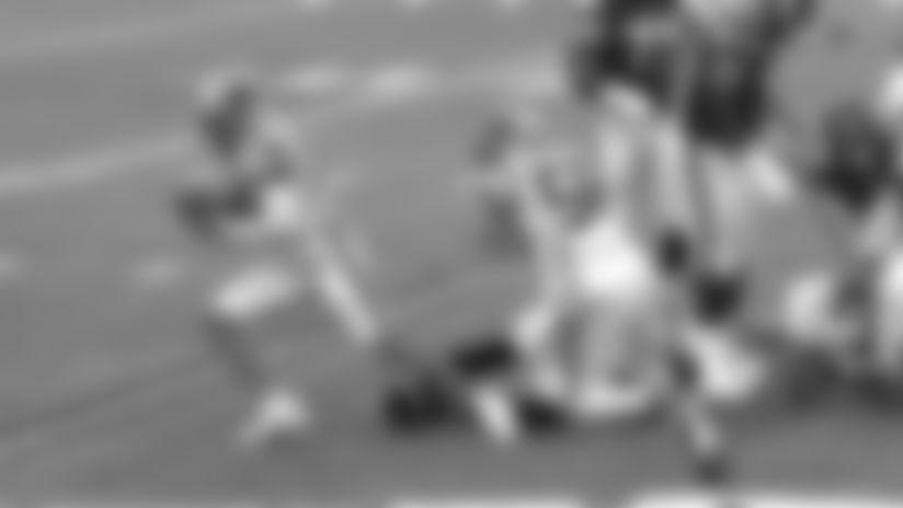Dalvin Cook fumbles, Jeremy Chinn recovers vs. Carolina Panthers