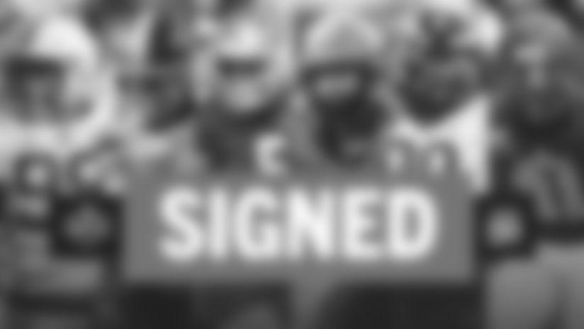 Panthers sign remaining six 2020 draft picks