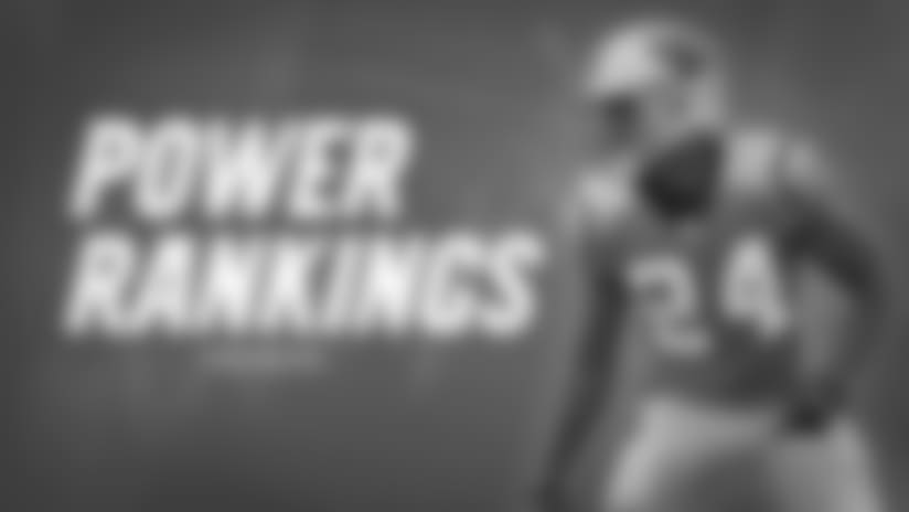 James Bradberry power rankings graphic
