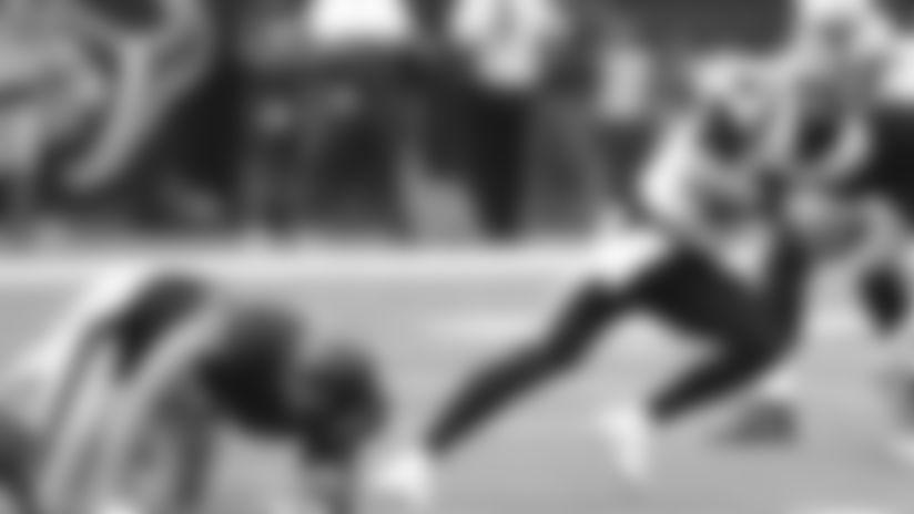 HIGHLIGHT: Kyle Allen's miraculous escape to convert third down
