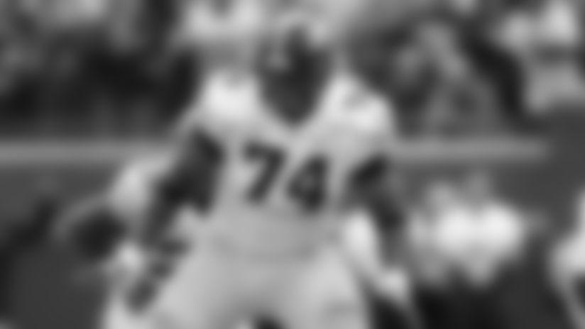 Iowa offensive lineman Tristan Wirfs (74).
