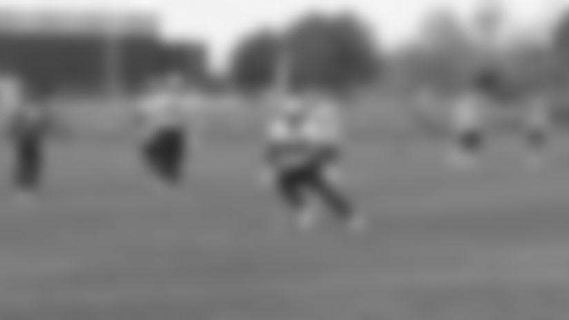 First look at Patriots OTA practice