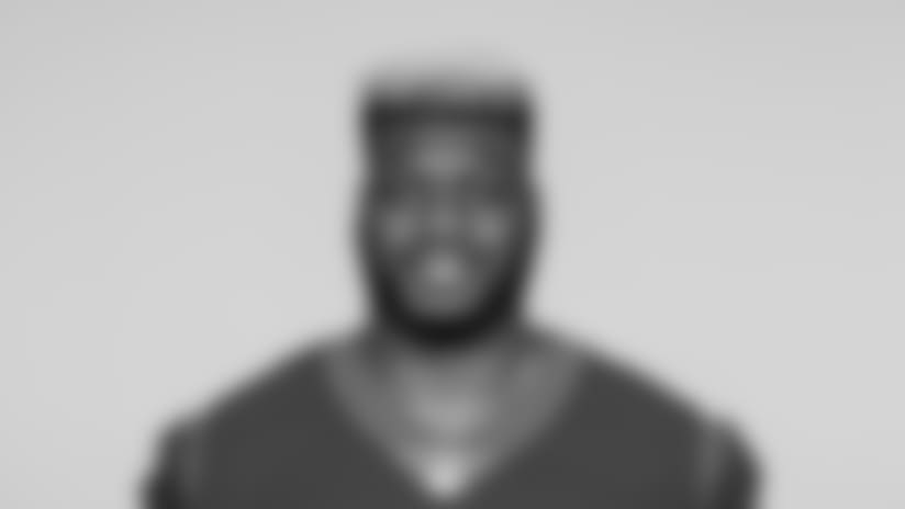 This is a 2018 photo of Ufomba Kamalu of the Houston Texans NFL football team. This image reflects the Houston Texans active roster as of Saturday, April 7, 2018 when this image was taken. (AP Photo)