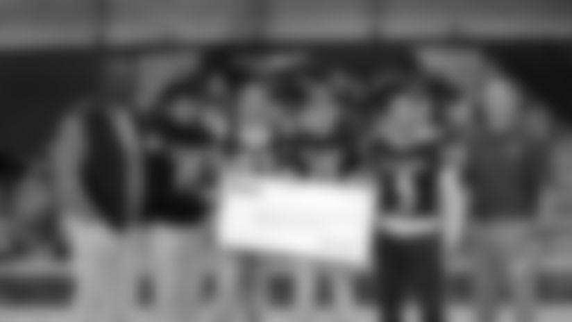 Patriots Foundation donates $250,000 to local high school football programs