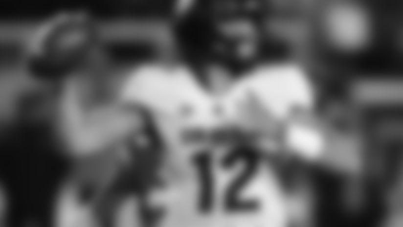Colorado quarterback Steven Montez (12) throws downfield in the first half during an NCAA college football game against Utah Saturday, Nov. 30, 2019, in Salt Lake City. (AP Photo/Rick Bowmer)
