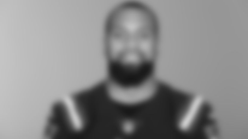 This is a 2020 photo of Donte Moncrief of the New England Patriots NFL football team. This image reflects the Patriots active roster as of August 1, 2020 when this image was taken. (AP Photo)