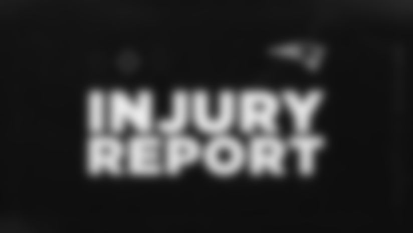 Week 3: Patriots - Raiders Injury Report