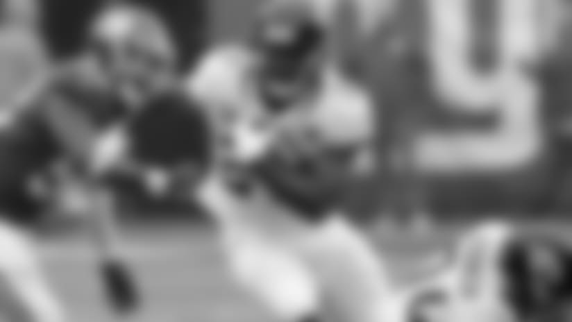 Leonard Fournette injured his hamstring in the opener against the Giants.