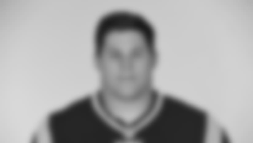This is a 2017 photo of James Ferentz of the New England Patriots NFL football team.  This image reflects the New England Patriots active roster as of June 5, 2017 when this image was taken. (AP Photo)