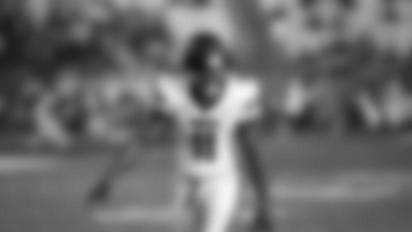 Liberty wide receiver Antonio Gandy-Golden (11) runs during an NCAA college football game against Louisiana Lafayette, Saturday, September 7, 2019, in Lafayette, La. (AP Photo/Tyler Kaufman)