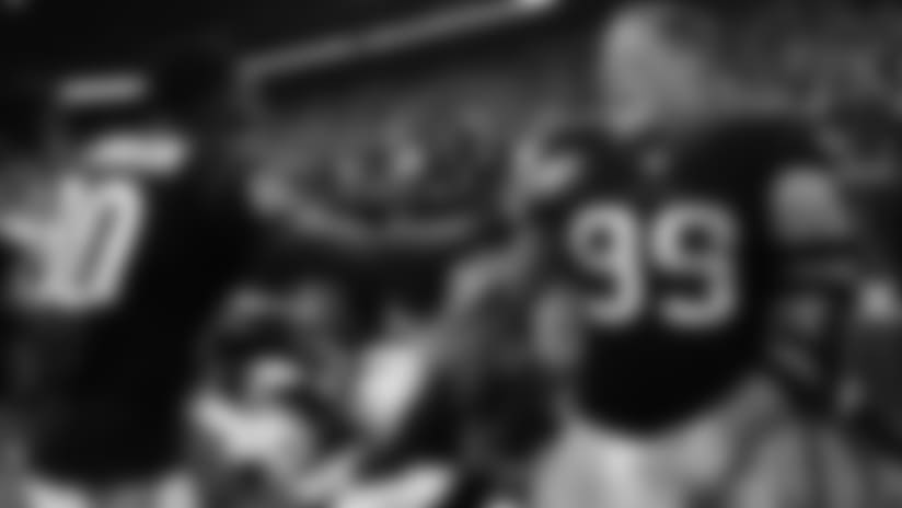 Texans WR Andre Johnson and DE JJ Watt