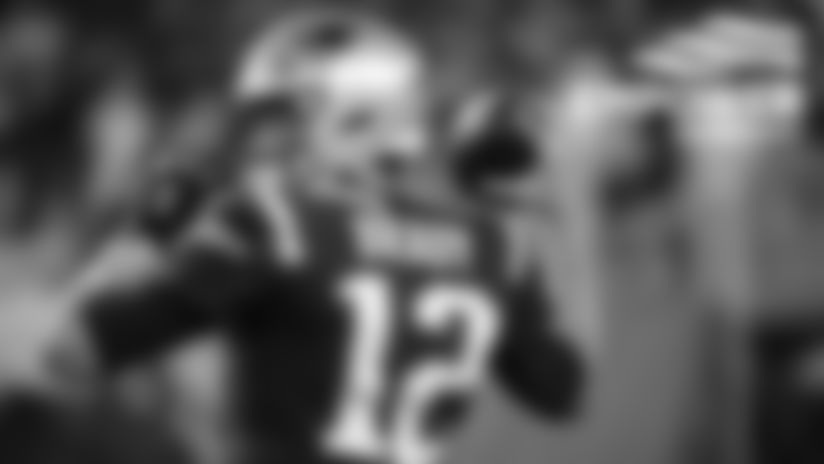 Photos: Patriots In Alternate Jerseys