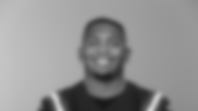 This is a 2020 photo of Isaiah Mack of the New England Patriots NFL football team. This image reflects the Patriots active roster as of August 1, 2020 when this image was taken. (AP Photo)