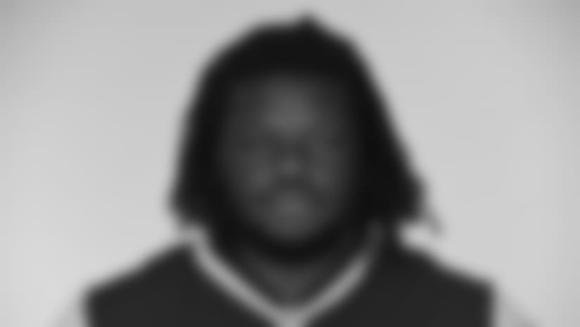 This is a 2017 photo of Malcom Brown of the New England Patriots NFL football team.  This image reflects the New England Patriots active roster as of June 5, 2017 when this image was taken. (AP Photo)