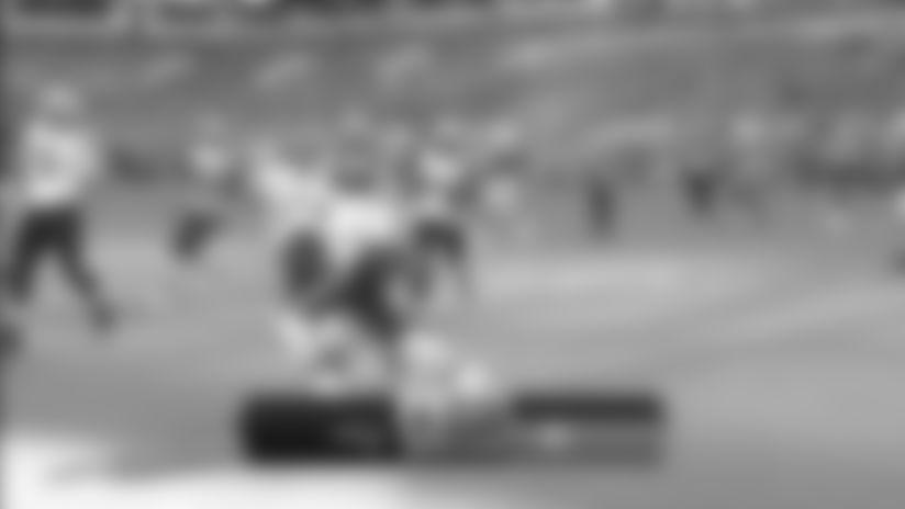 J.C. Jackson intercepts the Tua Tagovailoa pass vs. Miami Dolphins