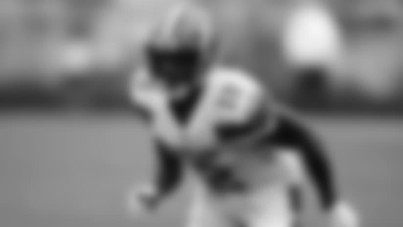 En esta imagen del 9 de septiembre de 2018 se ve al wide receiver de los Browns de Cleveland, Josh Gordon, en un duelo ante los Steelers de Pittsburgh en Cleveland. (Jeff Haynes/AP Images for Panini, Archivo)