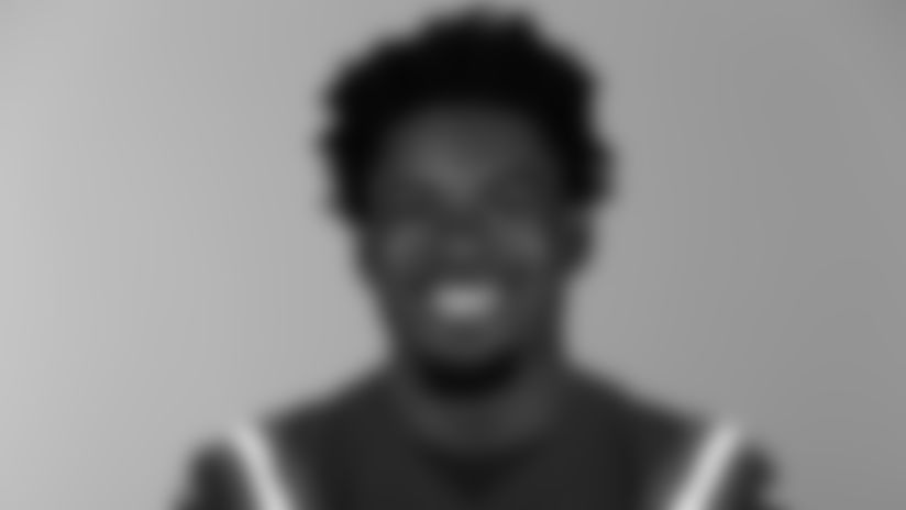 This is a 2020 photo of Isaiah Ford of the New England Patriots NFL football team. This image reflects the Patriots active roster as of August 1, 2020 when this image was taken. (AP Photo)
