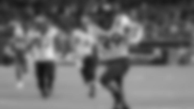 Virginia Tech tight end Dalton Keene runs for a first down during the second half of an NCAA college football game against Miami, Saturday, Oct. 5, 2019, in Miami Gardens, Fla. Virginia Tech won 42-35. (AP Photo/Lynne Sladky)