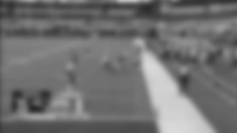 J.C. Jackson intercepts the Justin Herbert pass vs. Los Angeles Chargers