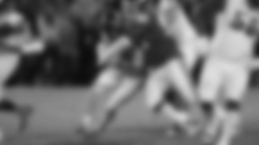 Oklahoma defensive lineman Neville Gallimore (90) tackled TCU quarterback Max Duggan, left, in the second half of an NCAA college football game in Norman, Okla., Saturday, Nov. 23, 2019. (AP Photo/Sue Ogrocki)