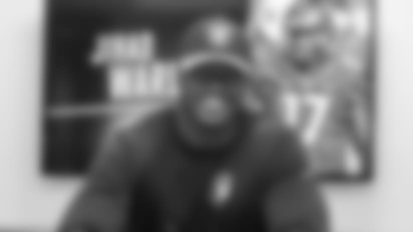Oakland Raiders Sign Second-Round Pick Defensive Lineman Jihad Ward