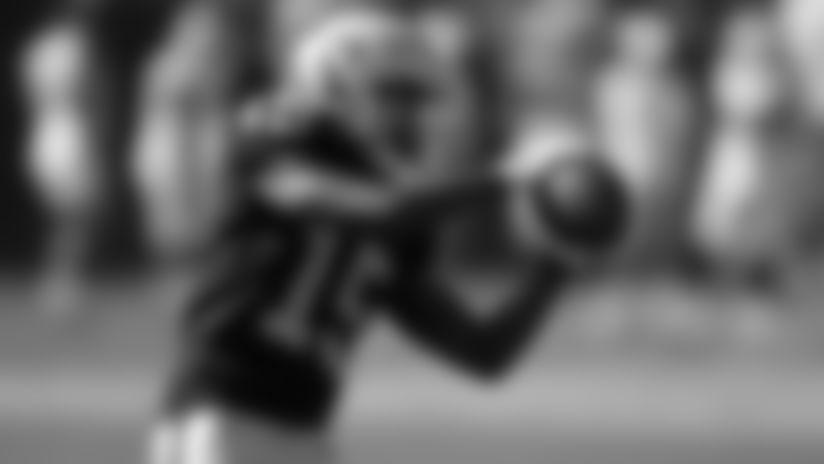 WR J.J. Nelson hauls in an impressive 38-yard grab