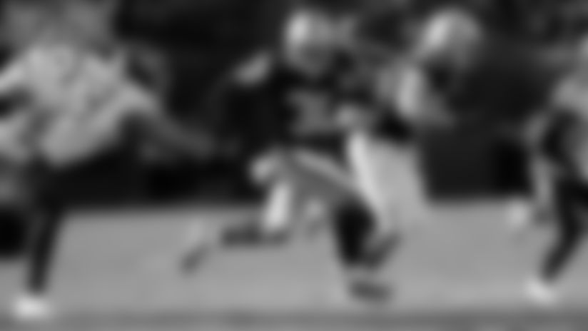 **4\. RB Jalen Richard (2016-Present)**  233 carries for 1,170 yards and 3 TDs, 160 catches for 1,380 yards and 3 TDs in 64 games.
