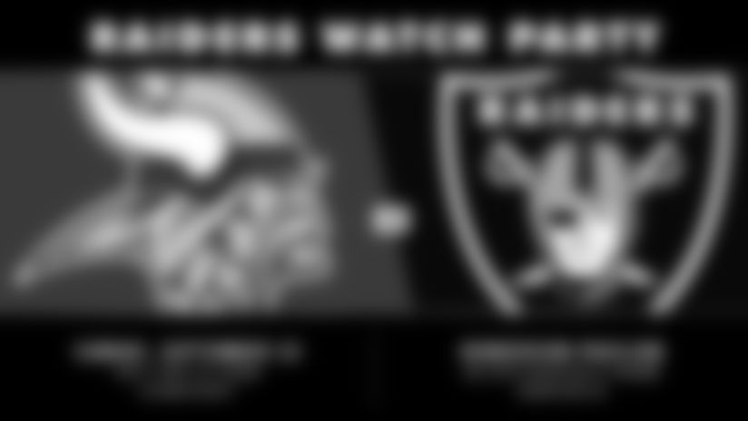Second Raiders Official 2019 Watch Party set for Sunday at Henderson Pavilion