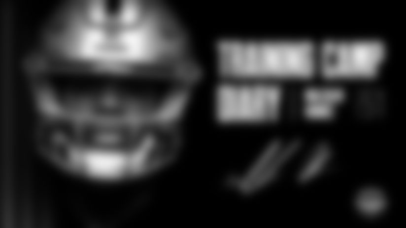 Each week during Training Camp, Raiders.com will be checking in with one of the 2021 draft picks for a slice of camp life.