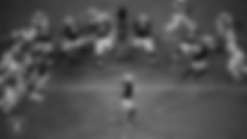 View team photographer Matt Aguirre's best photos from Allegiant Stadium's catwalk during the Silver and Black's 2020 season.