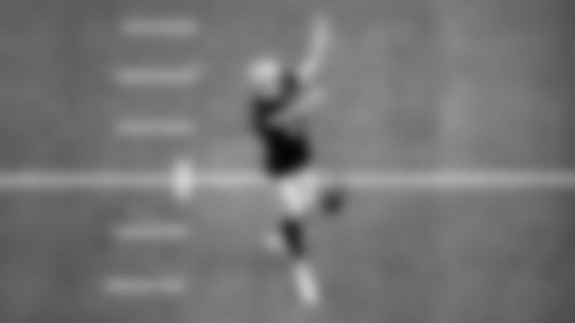 Las Vegas Raiders kicker Daniel Carlson (2) on the field for practice at 2020 Training Camp at Allegiant Stadium, Friday, August 28, 2020, in Las Vegas, Nev.