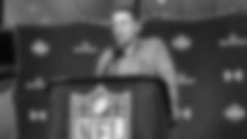 Coach Allen Combine Press Conference