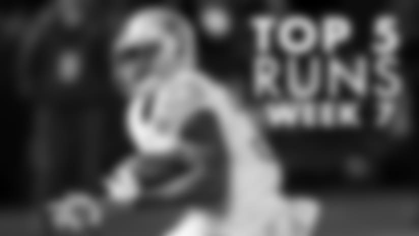 Washington Rush Among NFL's Top 5 Runs In Week 7