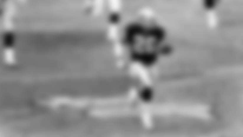 Running back Napoleon Kaufman